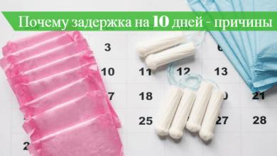 задержка месячных 10 дней тест отрицательный