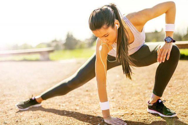 Упражнения на улице